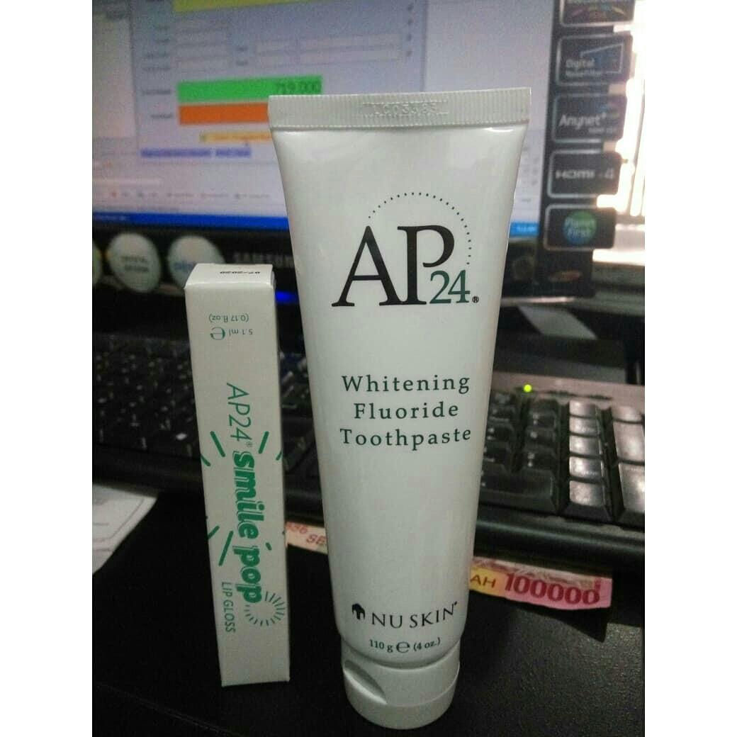 Nuskin 1paket Ap24 pasta gigi & Ap24 Smile Pop LipGloss., Health & Beauty, Skin, Bath, & Body on Carousell