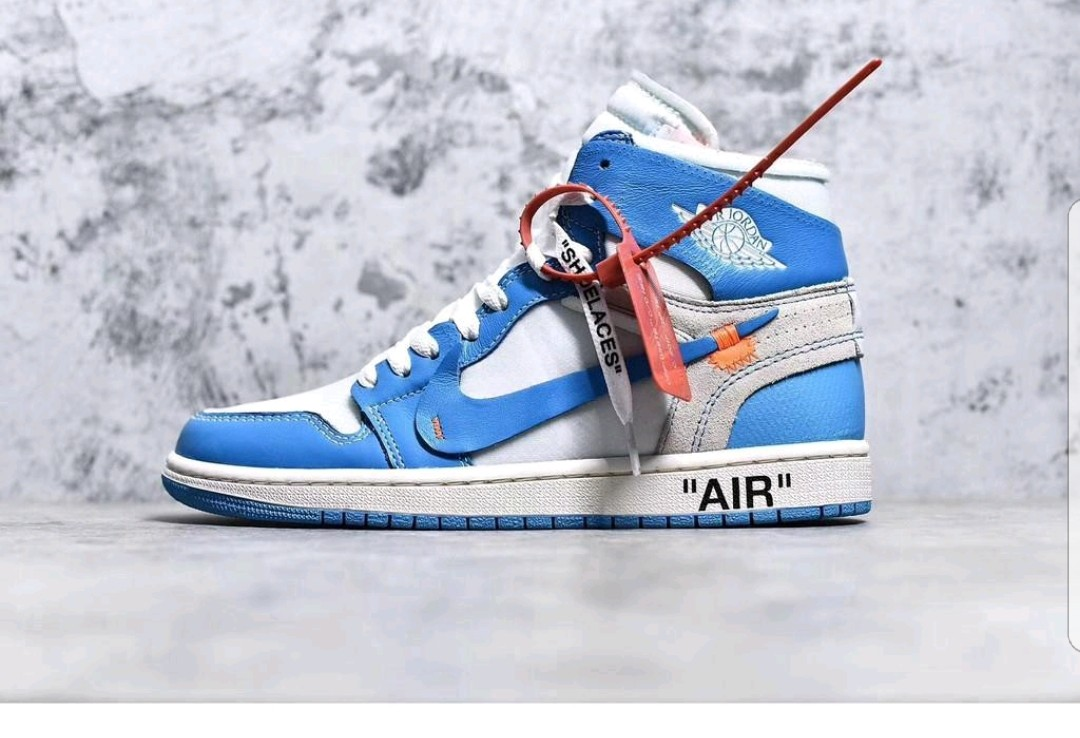 9b8b3833cbb06d OFF WHITE X NIKE Air Jordan 1 Royal Blue