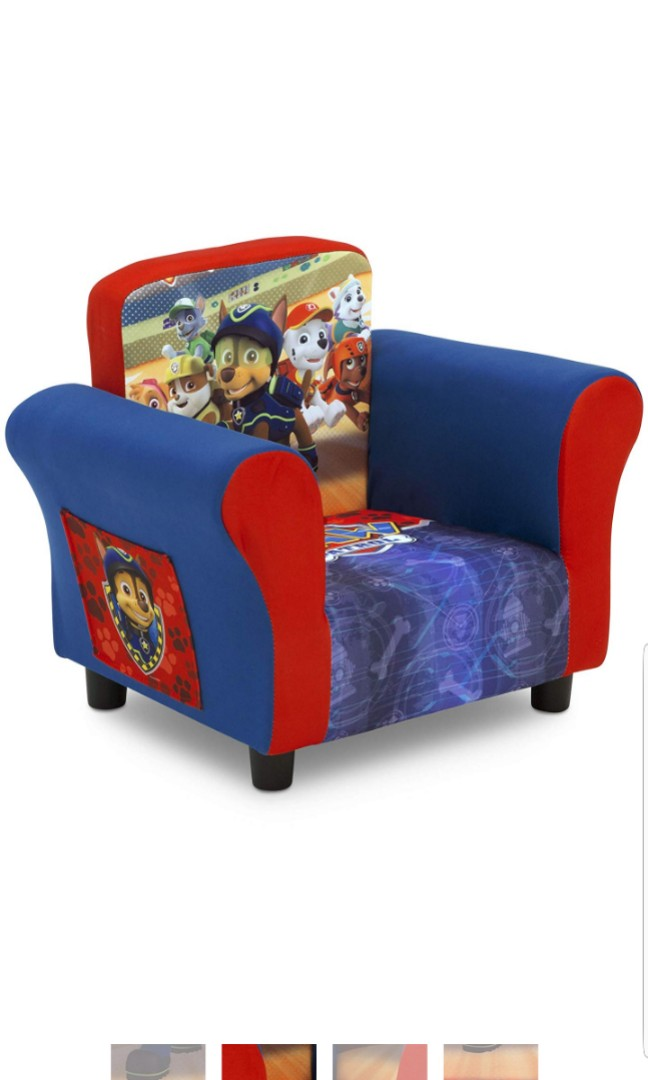 Paw Patrol Delta Children Nick Jr Upholstered Sofa Chair Furniture