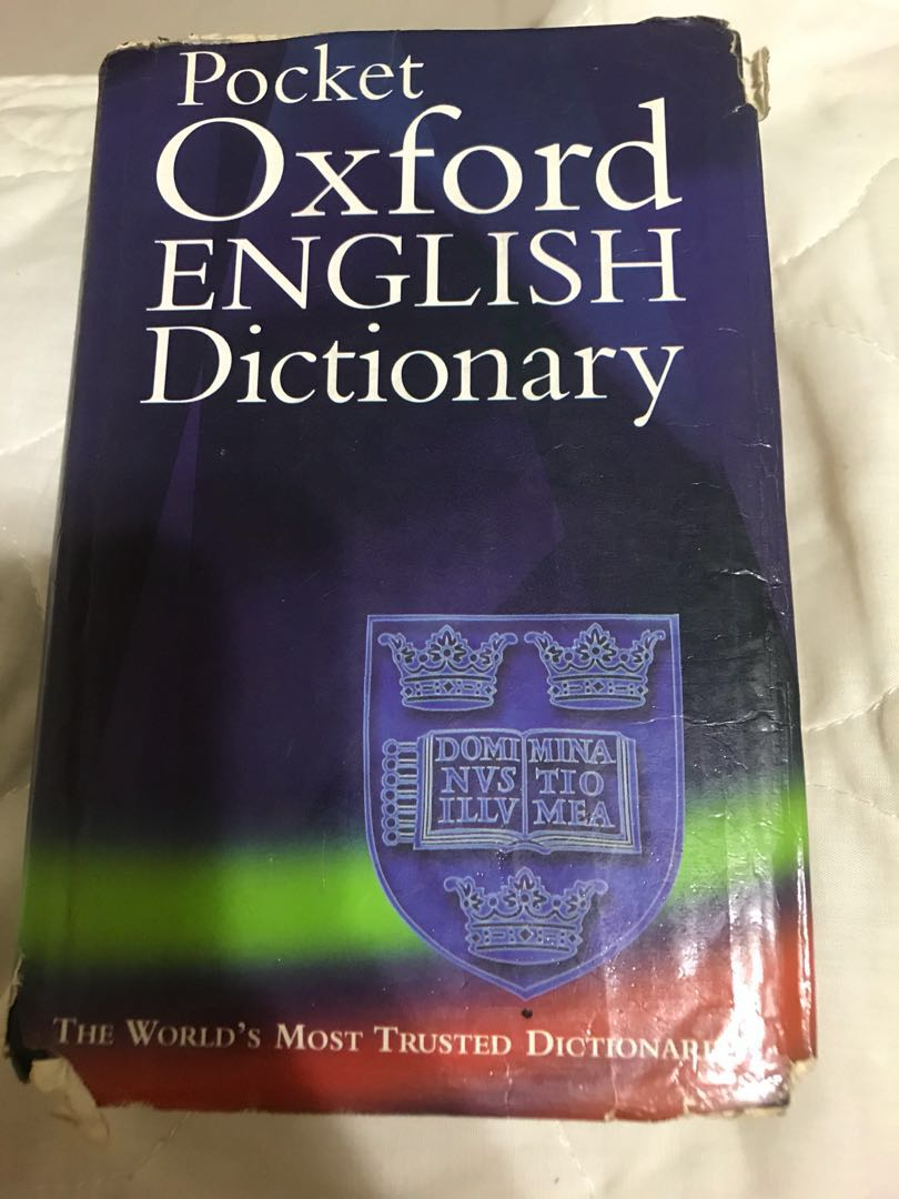Pocket Oxford English Dictionary, Books & Stationery, Stationery on  Carousell