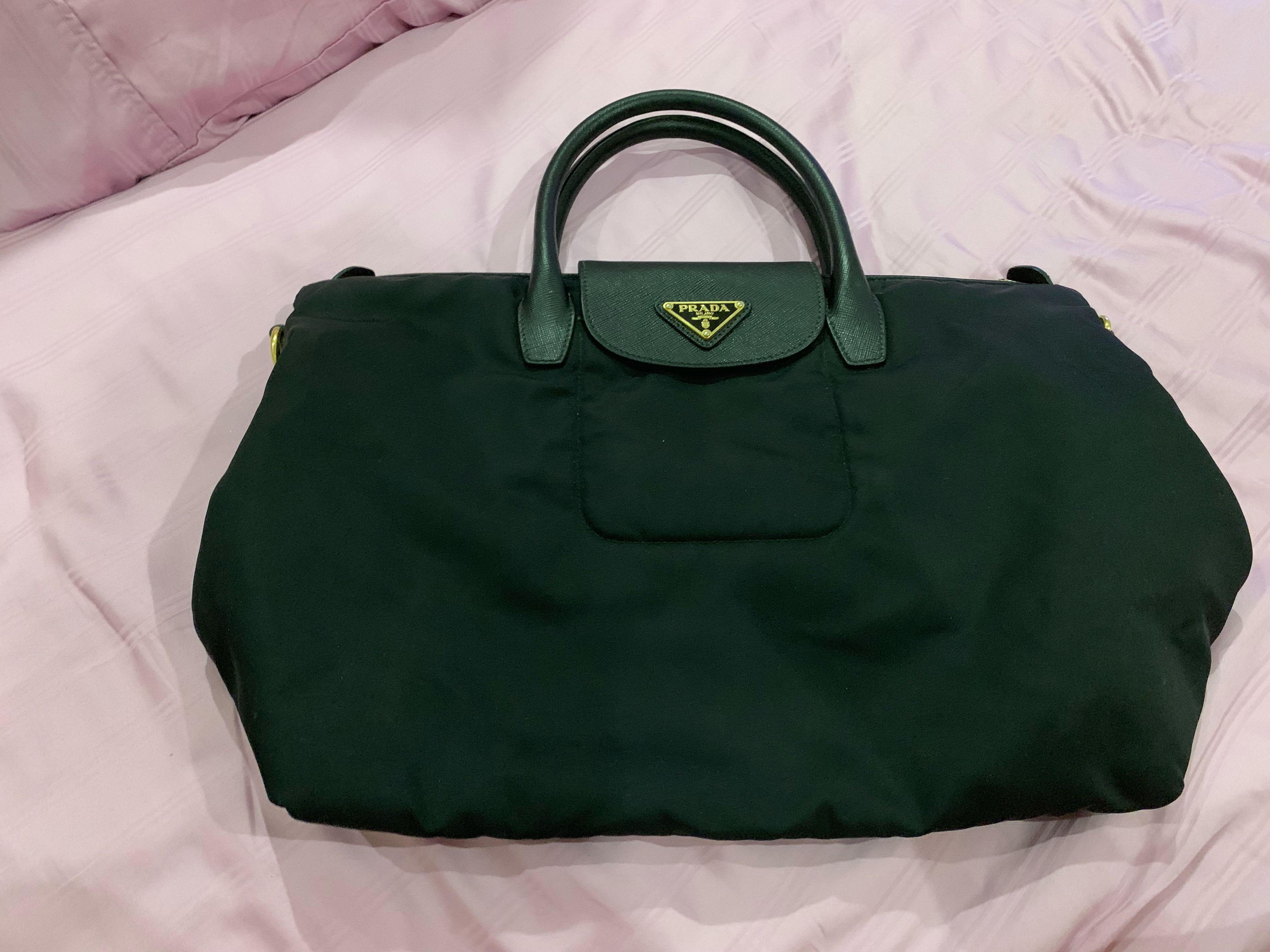a04d78dfcd43 Prada BN2541 Tessuto & Saffiano Tote Bag, Women's Fashion, Bags & Wallets,  Handbags on Carousell