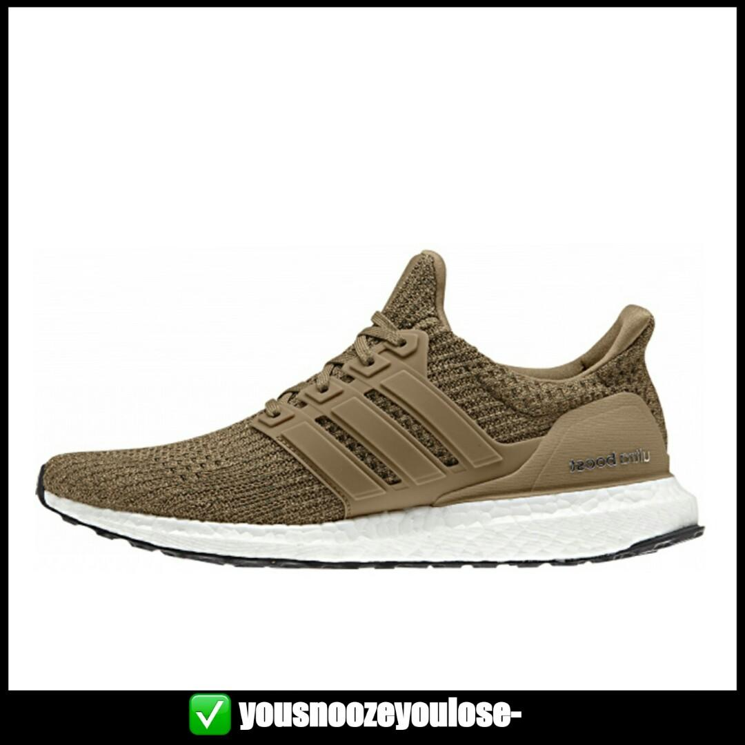 wholesale dealer 80729 31a24 PREORDER] ADIDAS ULTRA BOOST ULTRABOOST 4.0 BEIGE BROWN ...