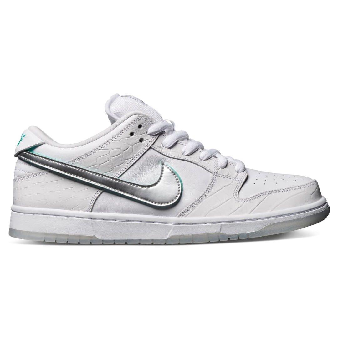 6033437097 💯[PREORDER] Nike SB Dunk Low Diamond Supply Co White Diamond, Men's ...