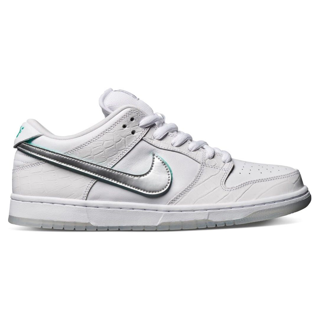 a2b6fdce49 💯[PREORDER] Nike SB Dunk Low Diamond Supply Co White Diamond, Men's ...