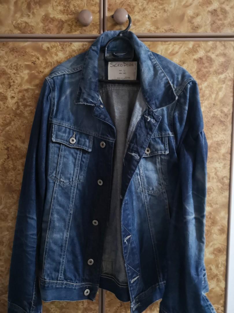 55cee7d9cf048 Pull   Bear medium size denim jacket