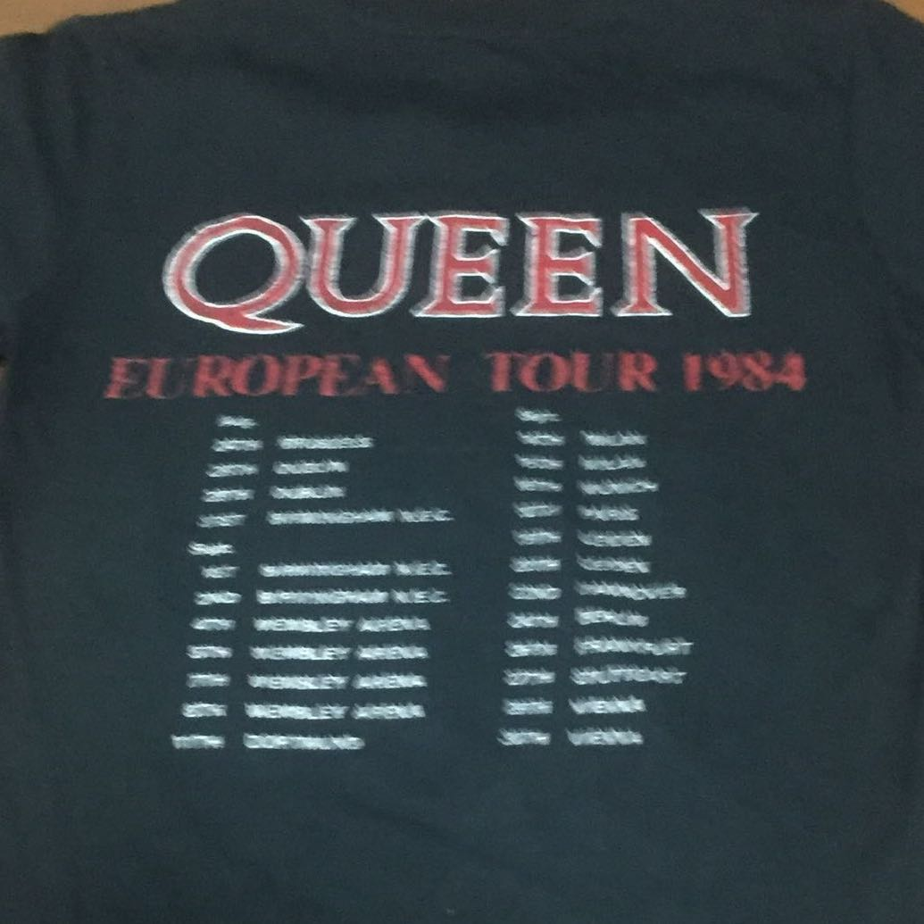 ae49cfc21 Queen Band T Shirt, Men's Fashion, Clothes, Tops on Carousell