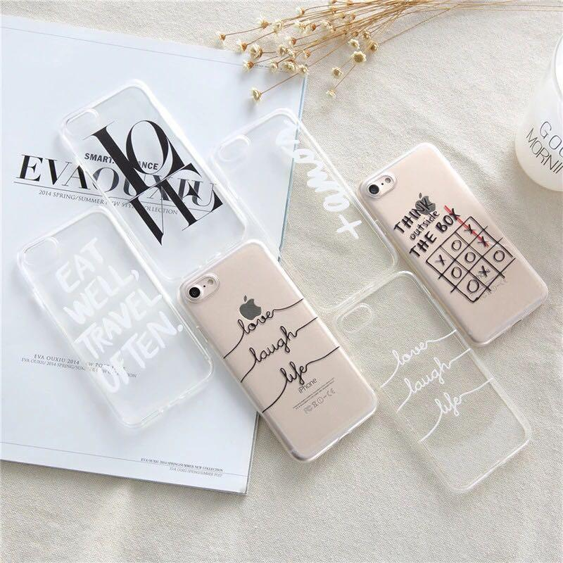 Prime Quotes Clear Anti Knock Phone Mobile Case Cover Mobile Beutiful Home Inspiration Ommitmahrainfo