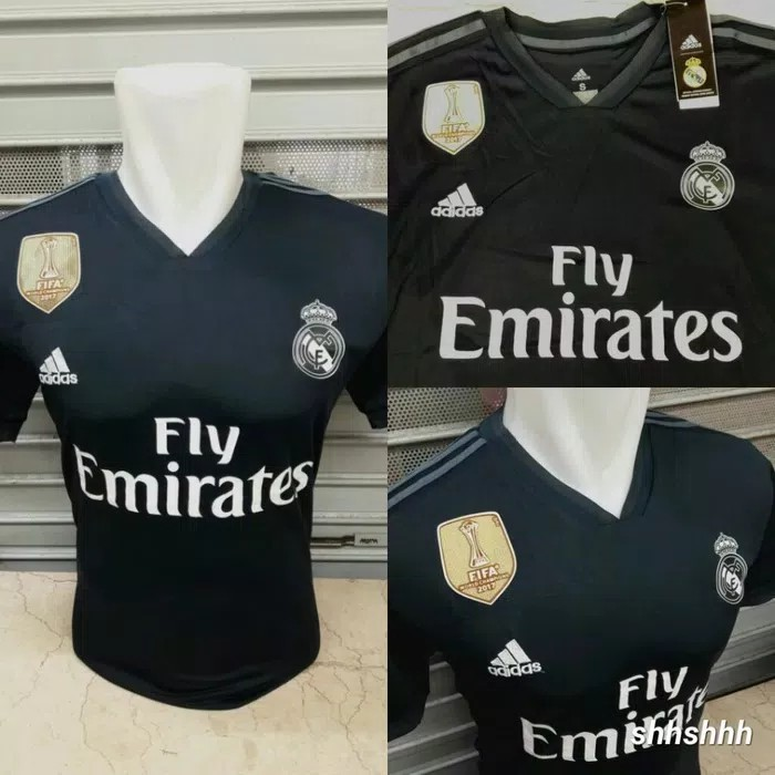 new arrival 6ab68 7faf8 Real Madrid 18/19 Jersey