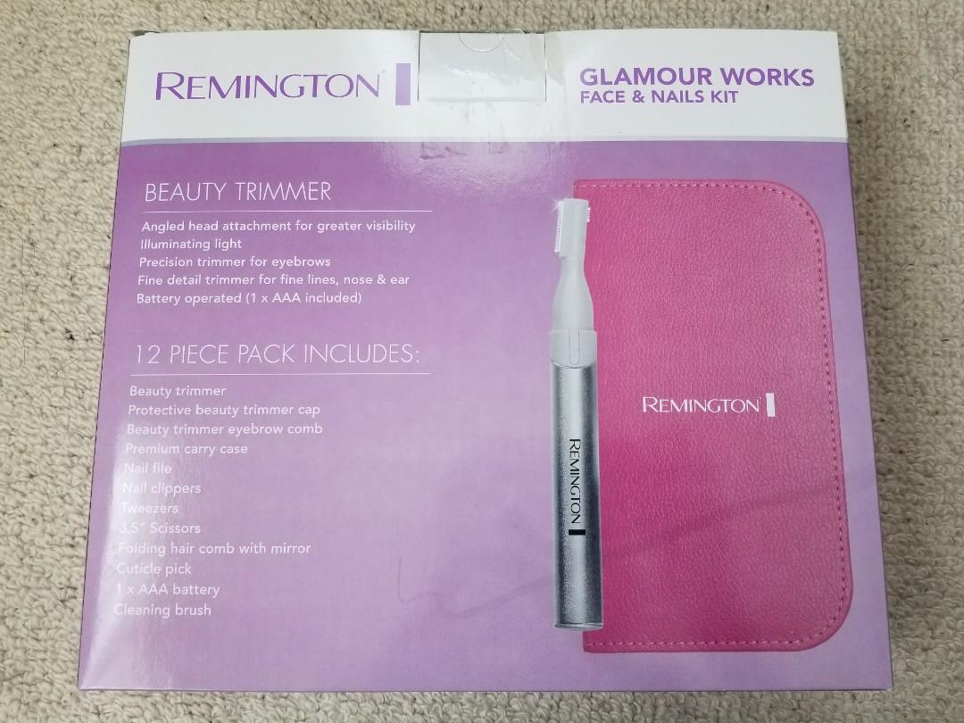 REMINGTON Glamour Works Face & Nails Kit