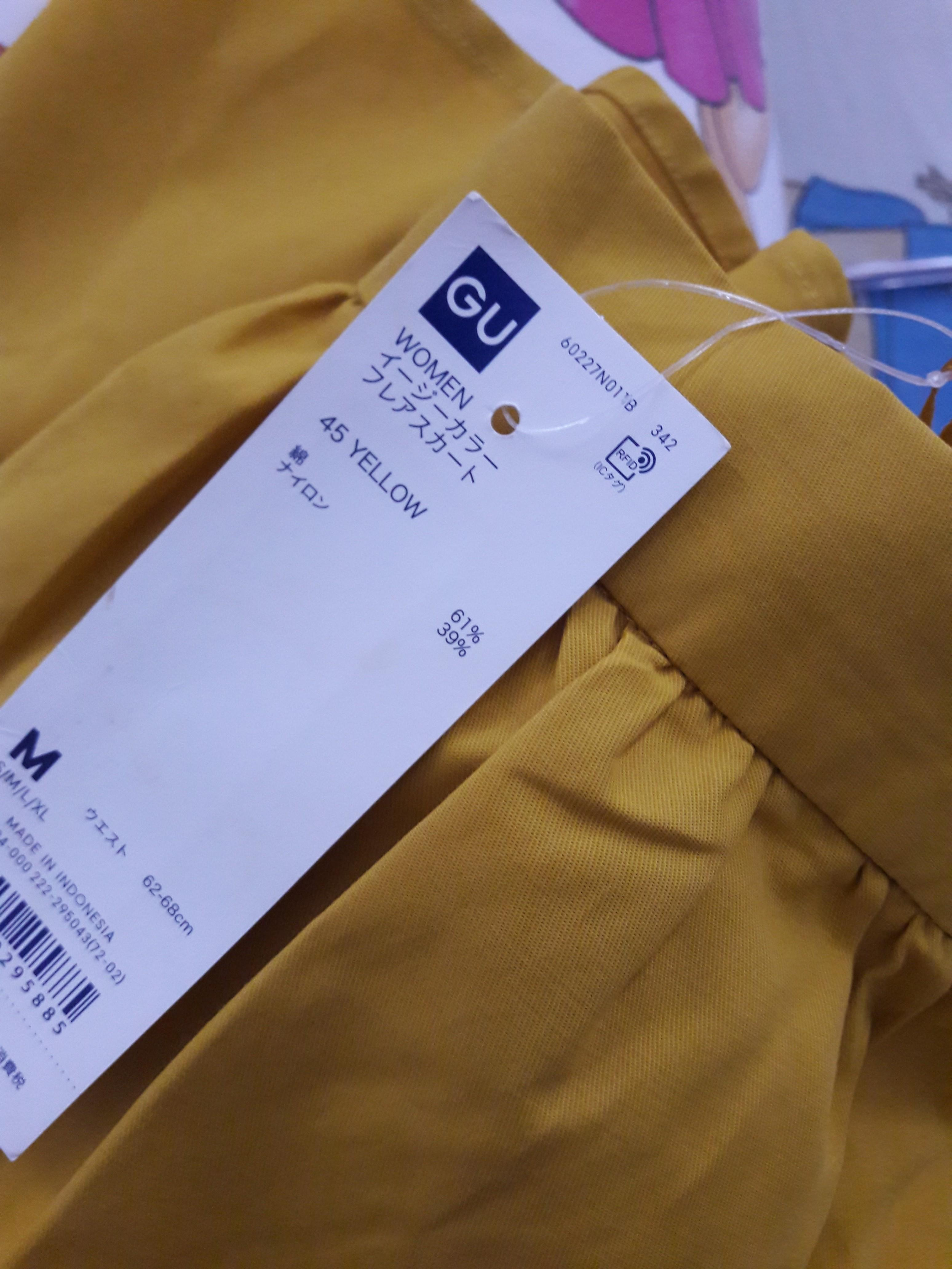 Rok Midi Yellow