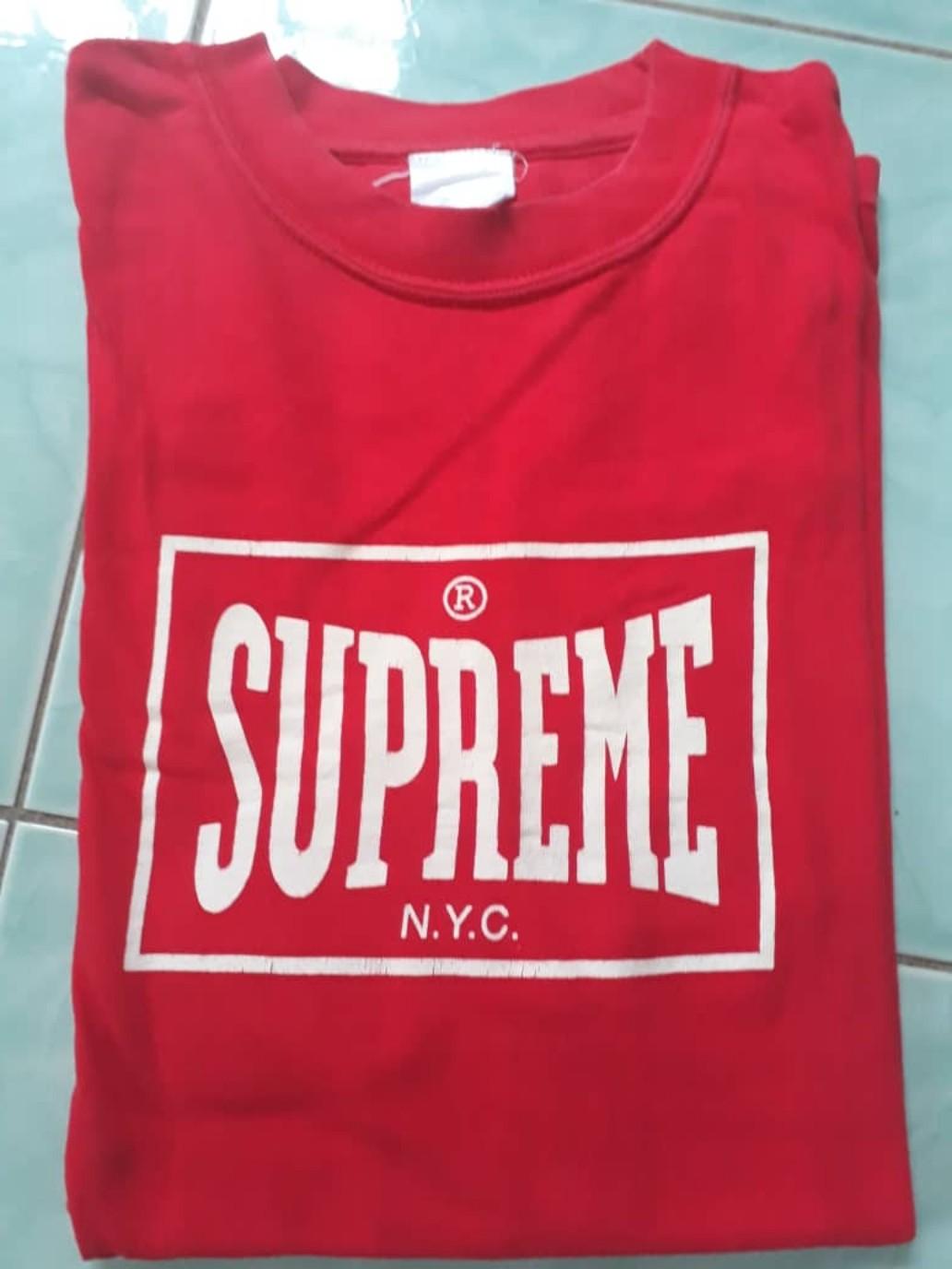 94cbb957 Supreme Everlast, Men's Fashion, Clothes, Tops on Carousell
