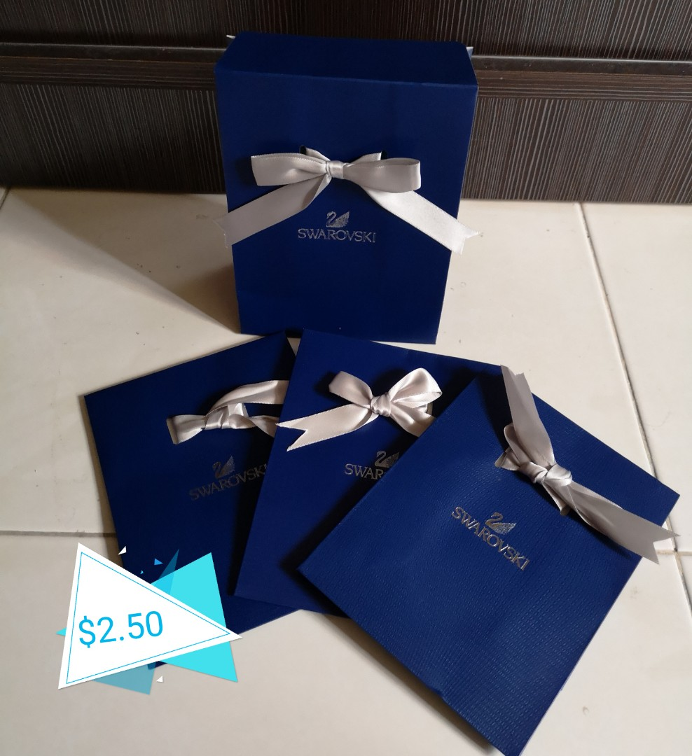 b6e5e04441 Swarovski gift bag, Luxury, Accessories, Others on Carousell
