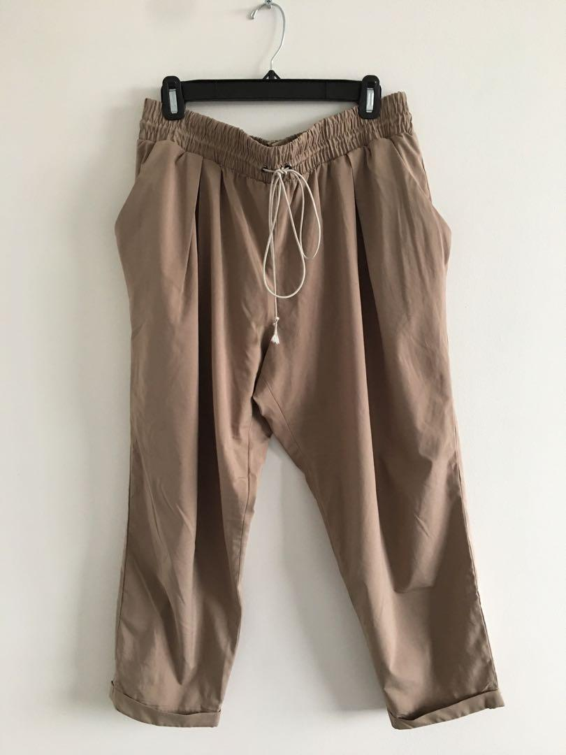 Synch Waist Trousers
