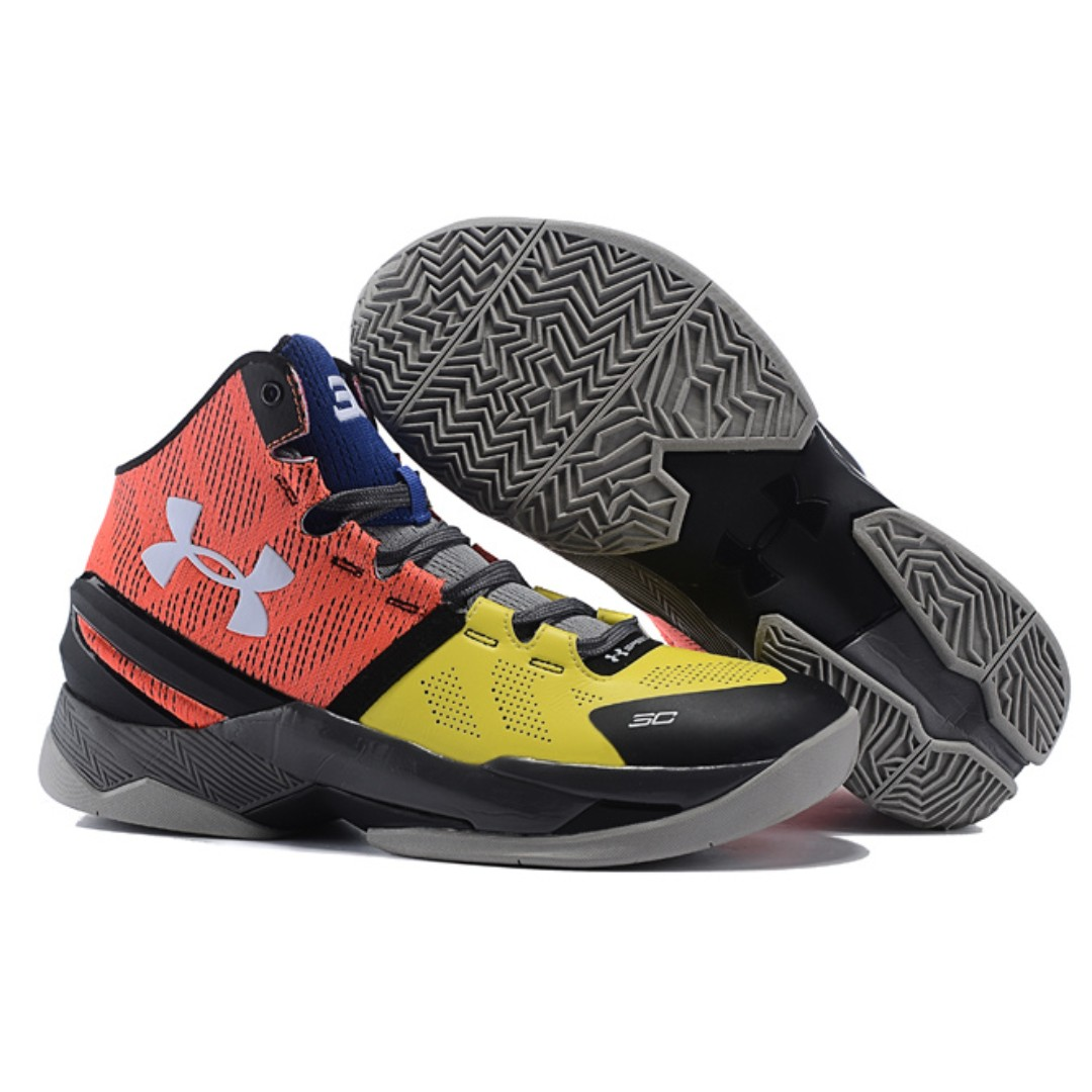 2a057557c11 UNDER ARMOUR Curry 2 Basketball Shoes Size 11 US Spedofoam Charged ...