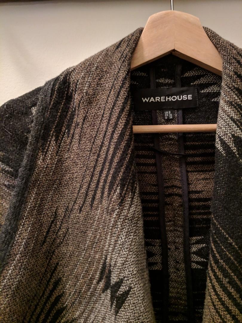 WAREHOUSE UK brand sweater jacket