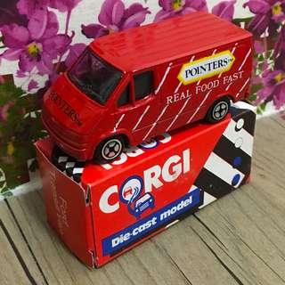 Corgi Junior Ford Transit 英國制