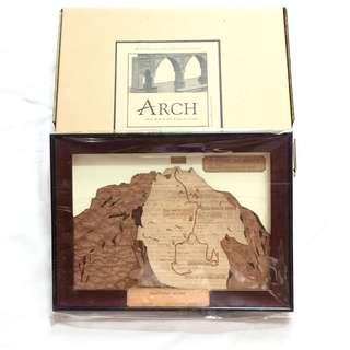 [NEW] Arch Collection Wooden Mt Kinabalu