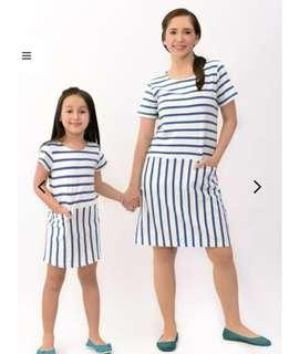 Preloved mom and me twinning dress