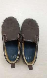 Gap 男童 啡色鞋 Toddler Shoes Size 10