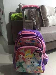 BN Kids' Bag with detachable trolley portion