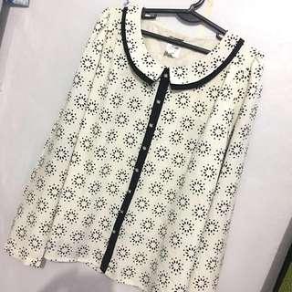 Long sleeves polo (Buy1 Get1)