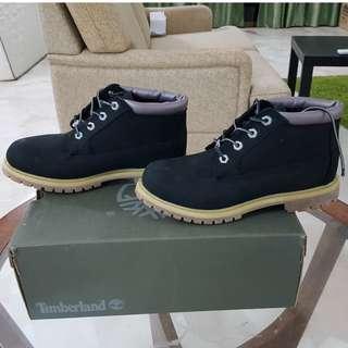 Original Timberland Nellie Chukka Boots (black nubuck)