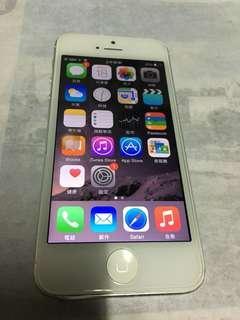 🚚 Apple iPhone 5 白色 16G 便宜售(可議價)~