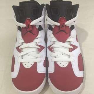 Air Jordan 6 Carmine GS 6Y