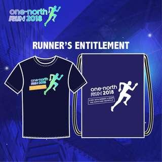 one-north Run 2018 Event Tee