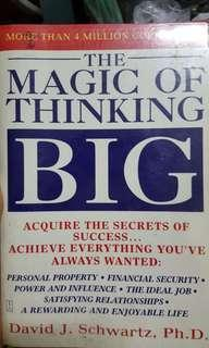 The Magic of Thinking Big English version