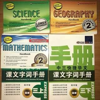 Revision Handbooks SECONDARY