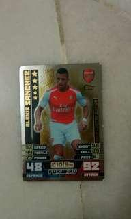 Gold Limited Edition Alexis Sanchez (A few dents)