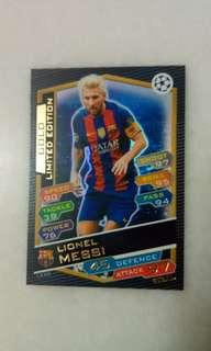 Gold Limited Edition Lionel Messi (No dents)