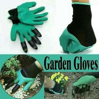 Sarung tangan Kebun bahan karet