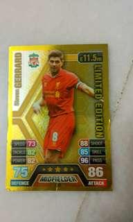 Limited Edition Steven Gerrard (A few Dents)