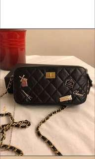Chanel WOC with charms