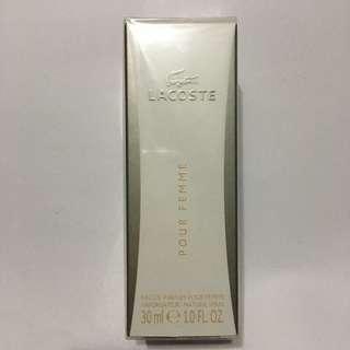 Lacoste Pour Femme 30ml BN Sealed