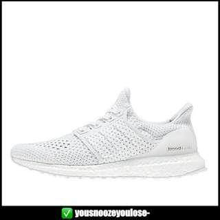 [PREORDER] ADIDAS ULTRA BOOST ULTRABOOST CLIMA TRIPLE WHITE CLEAR BROWN
