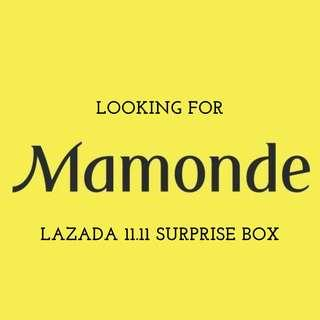 LOOKING FOR: Lazada x Mamonde 11.11 Surprise Box