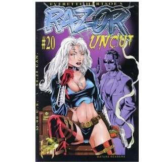 13x RAZOR LOT (LONDON NIGHT COMICS)