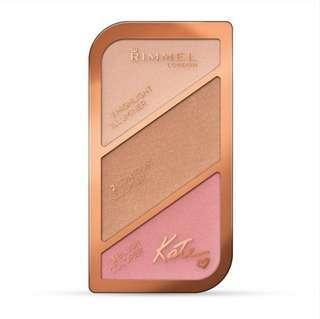 🚚 Rimmel #003 kate sculpting palette golden bronze