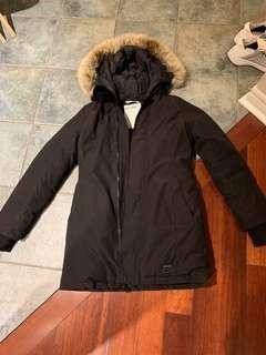 Haven goose down aritzia jacket size medium