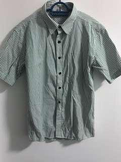 🚚 CHeAp Selling 🍹 Dual Green/ Black Line Shirt