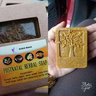 POSTNATAL HERBAL SOAP BY SUSUK MANJA (100g)