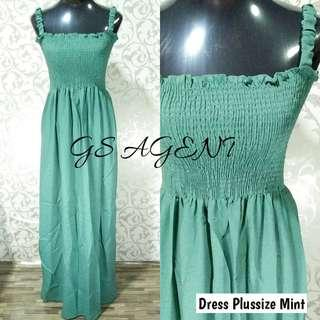 Dress plussize mint