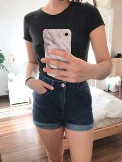 Stradivarius super high-waisted shorts