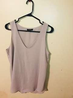 Sleeveless top medium $3
