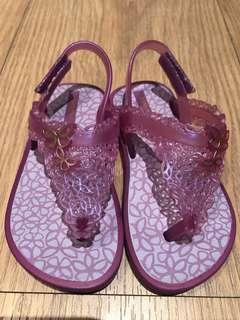 🚚 巴西Grendene紫色果凍涼鞋