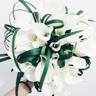 Designer sophisticated elegance bridal bouquet WD153