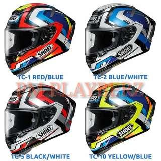 *PSB APPROVED SHOEI X-FOURTEEN BRINK